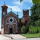 Chapel in Castellero in northern Italy by katekreations