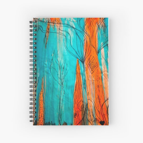 Fire & Ice Spiral Notebook