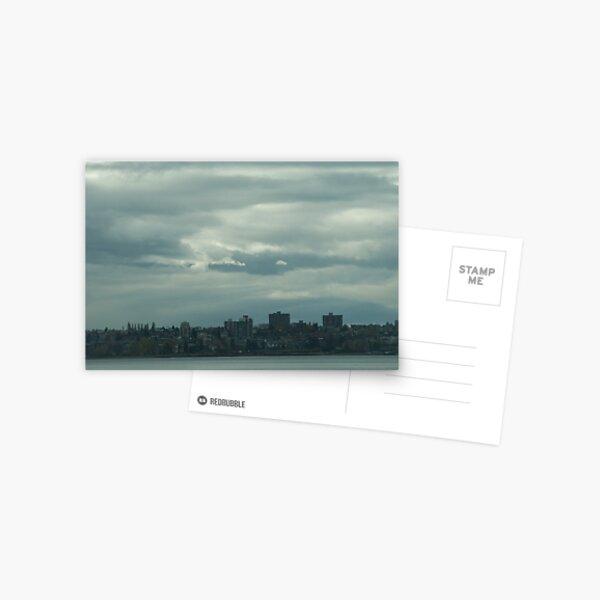 """Light, gray"",  Vancouver, Canada, 2007 Postcard"