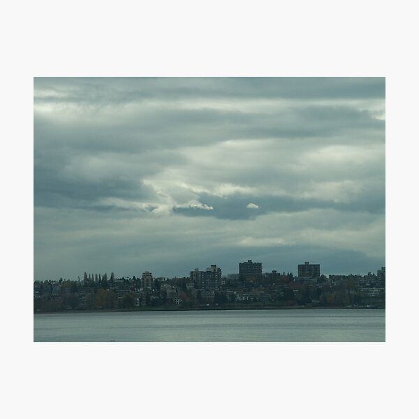 """Light, gray"",  Vancouver, Canada, 2007 Photographic Print"