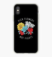Vinilo o funda para iPhone Camisa de flores