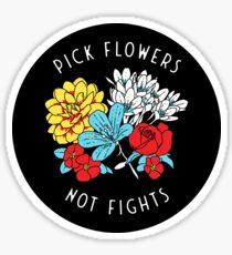 Pegatina Las flores