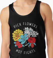 Camisetas de tirantes para hombre Camisa de flores