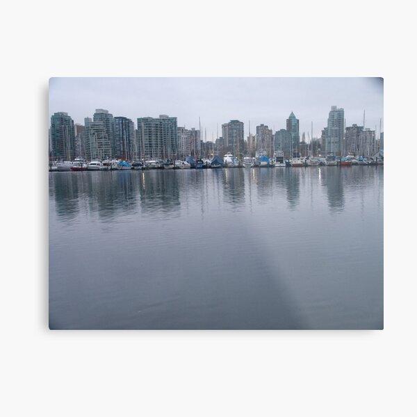 Masts, Vancouver, Canada, 2007 Metal Print