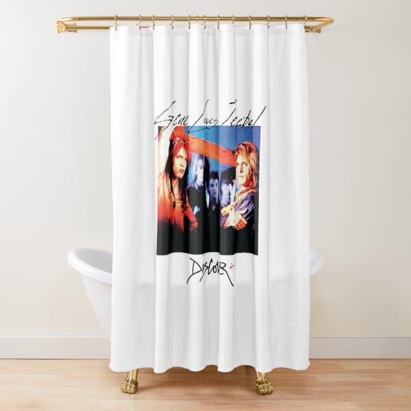 Gene Loves Jezebel Shower Curtain