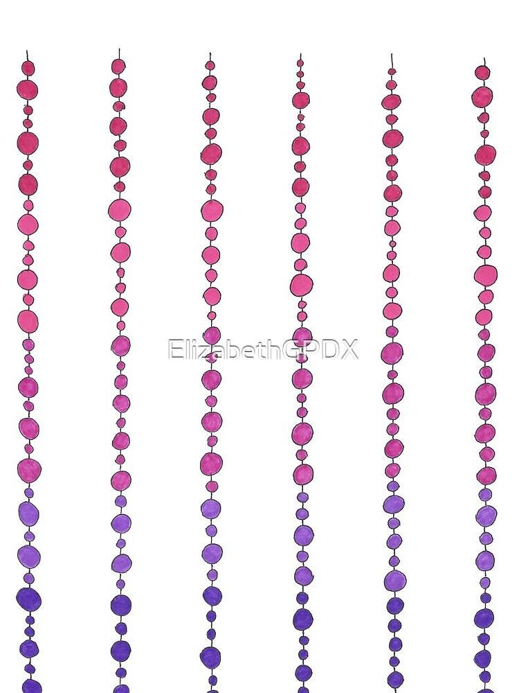 Happy Hanging Beads by ElizabethGPDX