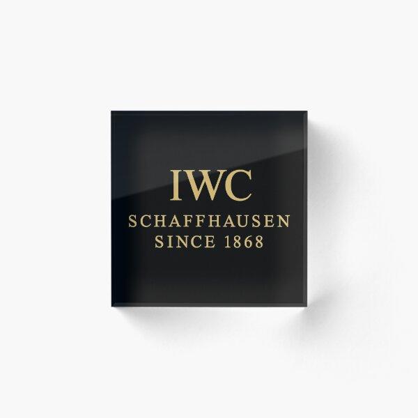 The Trending IWC Schaffhausen Acrylic Block