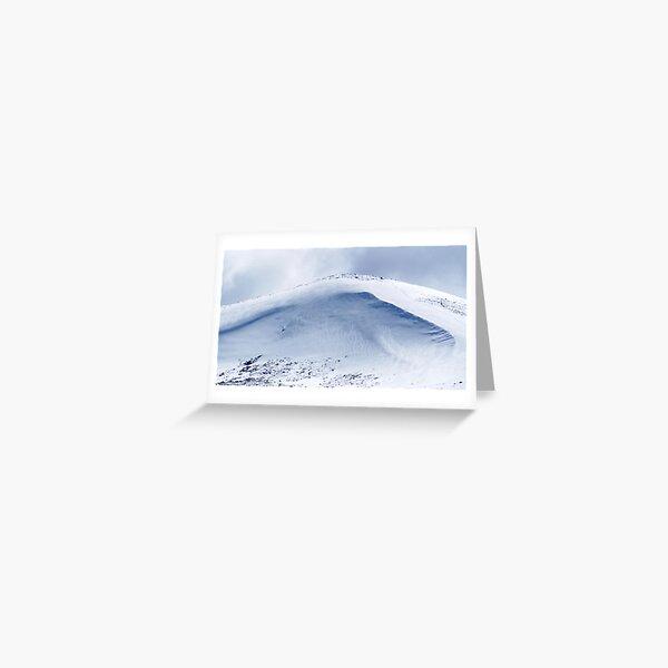 Snowy Ridge Greeting Card