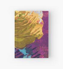 Yellow Ranunculus Buttercup Floral Art Hardcover Journal