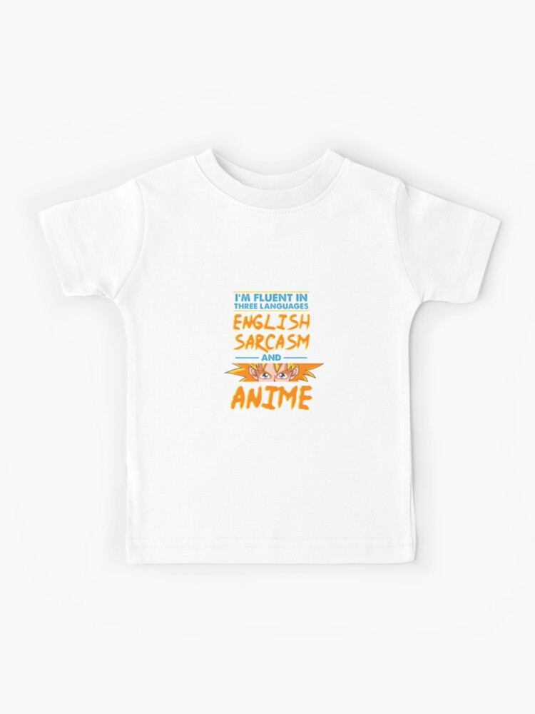 "Funny Anime Shirt Japanese Manga Kawaii Gift"" Kids T-Shirt by biNutz |  Redbubble"