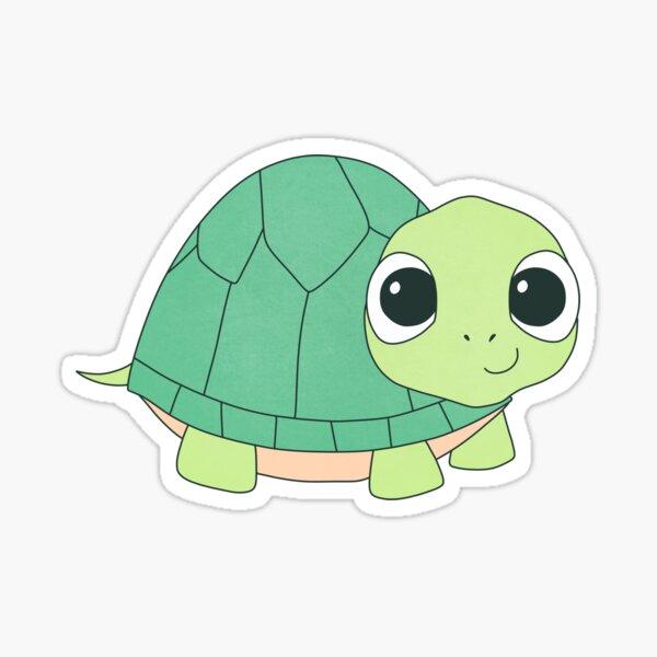 Cute Kawaii Sea Turtle Sticker