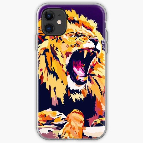 Lion Roar iPhone Soft Case