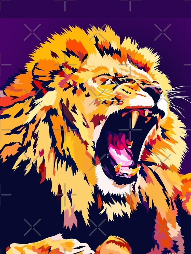 Lion Roar by Elviranl