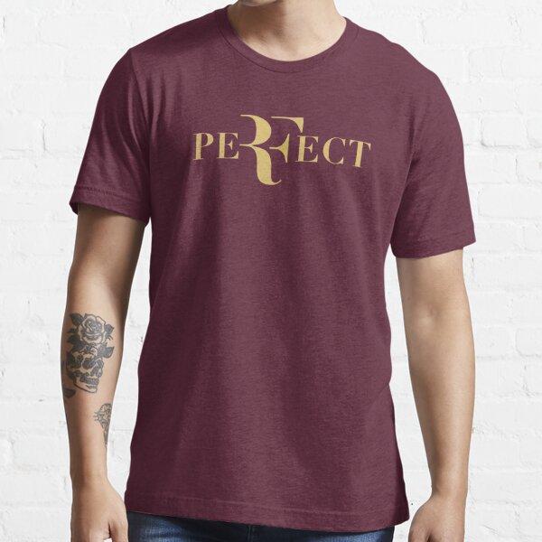 Logotipo de Roger federer gold perfecto Camiseta esencial