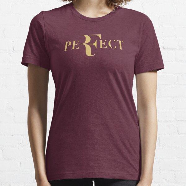 Perfect Roger federer gold logo Essential T-Shirt