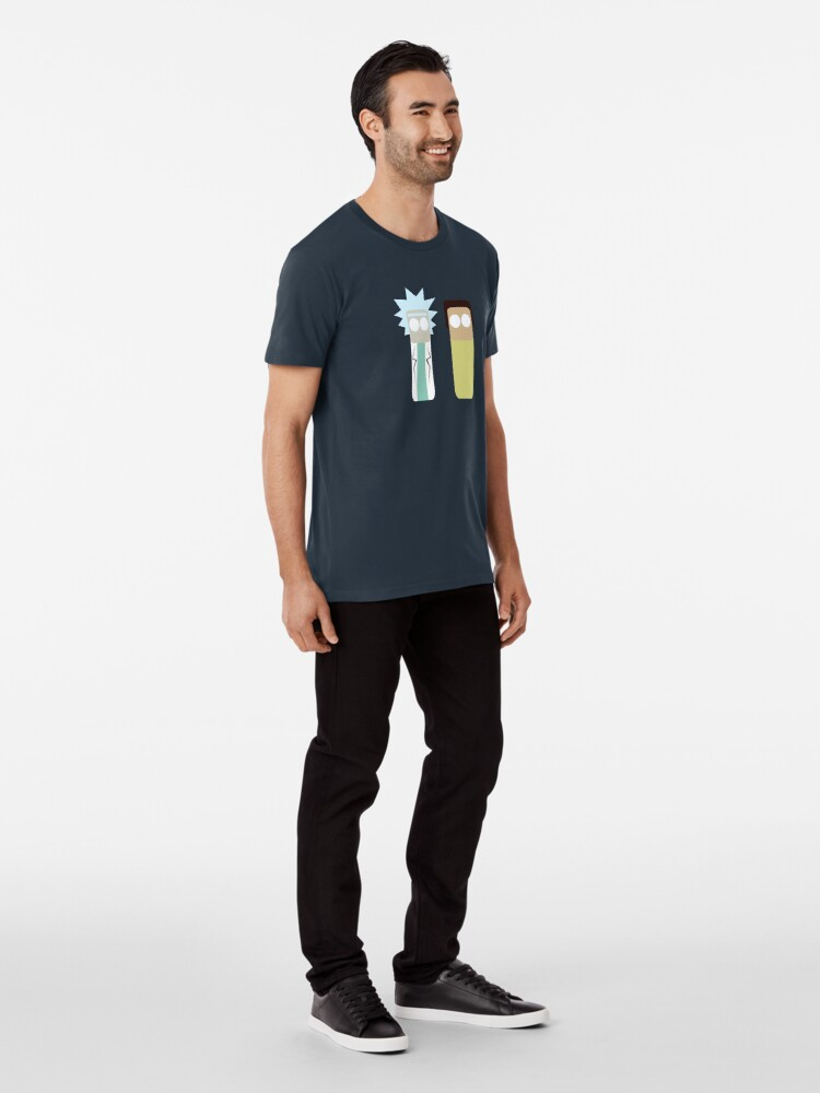 Alternate view of rick and morty Premium T-Shirt