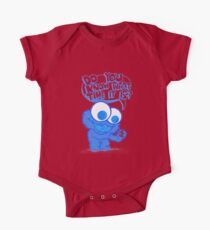 C is for cookie and cookie is for me! One Piece - Short Sleeve