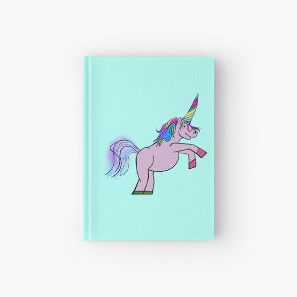 Melting Horn Unicorn Hardcover Journal