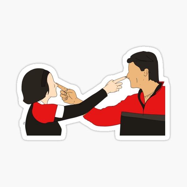 Love is Friendship Sticker