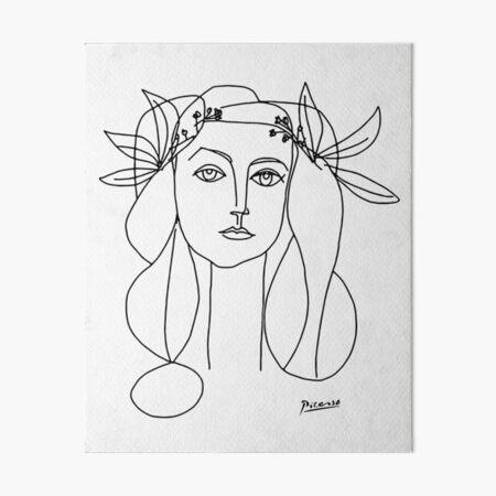 Pablo Picasso War And Peace 1952 Artwork Design For Men, Women, Kids, Boys, Girls Art Board Print