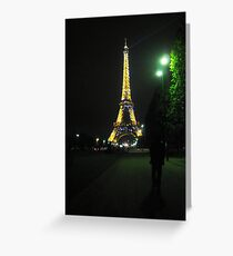 Beauty in the Dark Night Greeting Card