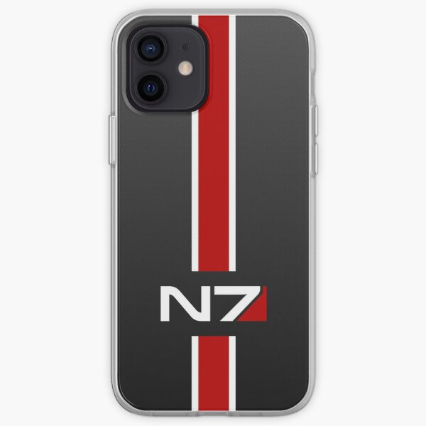 N7 emblem, Mass Effect iPhone Soft Case