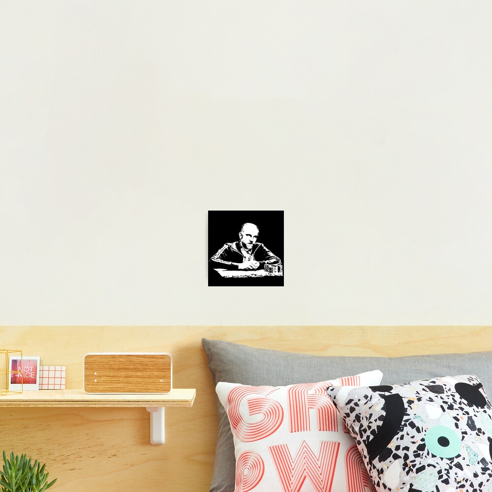 Teddy KGB Rounders Photographic Print