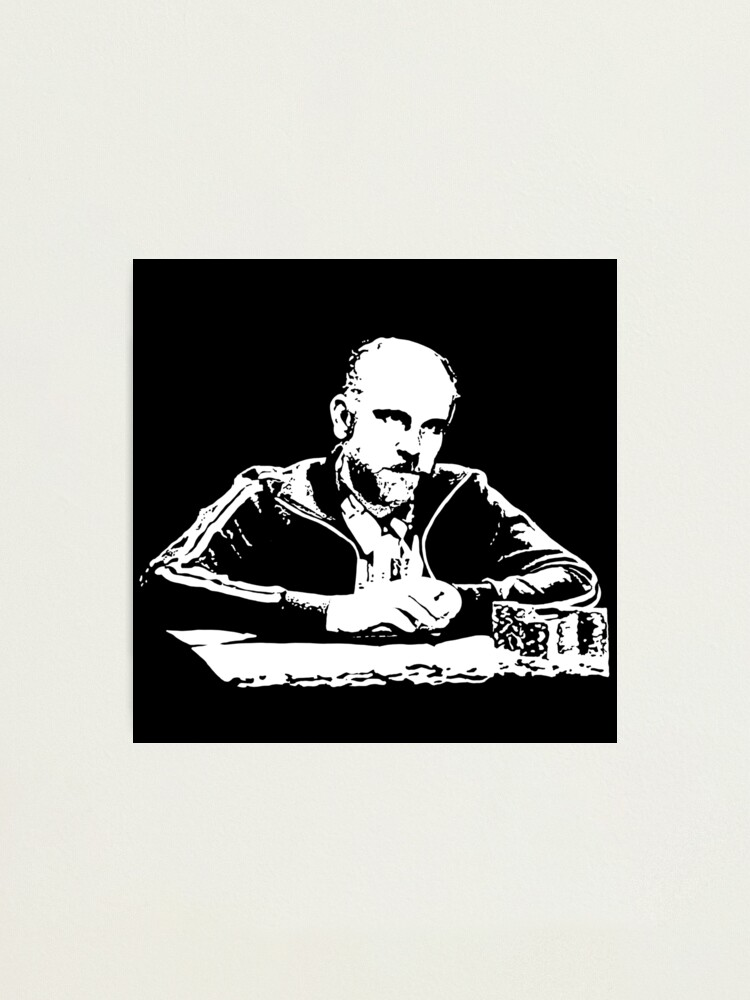 Alternate view of Teddy KGB Rounders Photographic Print