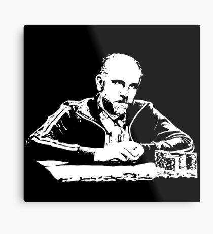 Teddy KGB Rounders Metal Print
