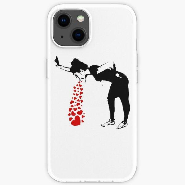 Lovesick - Banksy, Streetart Street Art, Grafitti, Artwork, Design For Men, Women, Kids iPhone Soft Case