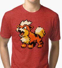 Pokemon - Growlithe Tri-blend T-Shirt