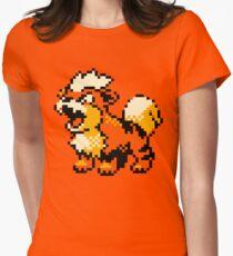 Pokemon - Growlithe Women's Fitted T-Shirt