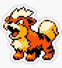 Pokemon - Growlithe Sticker