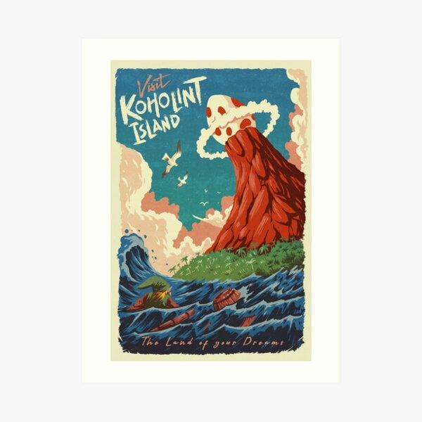 Visit Koholint Island Art Print