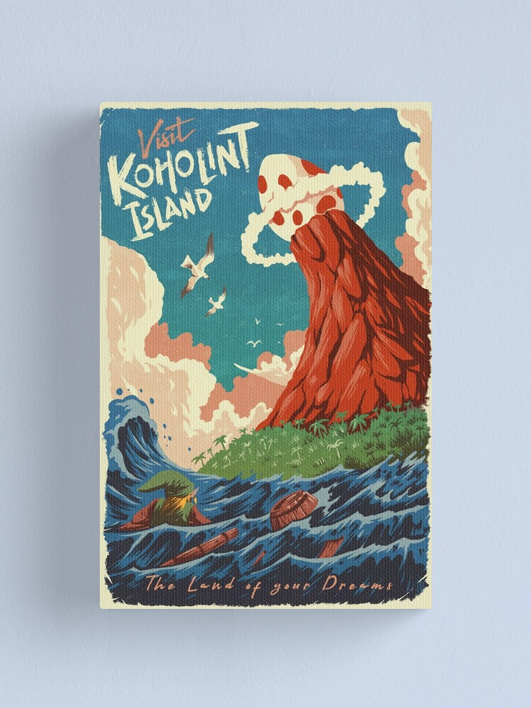 Alternate view of Visit Koholint Island Canvas Print