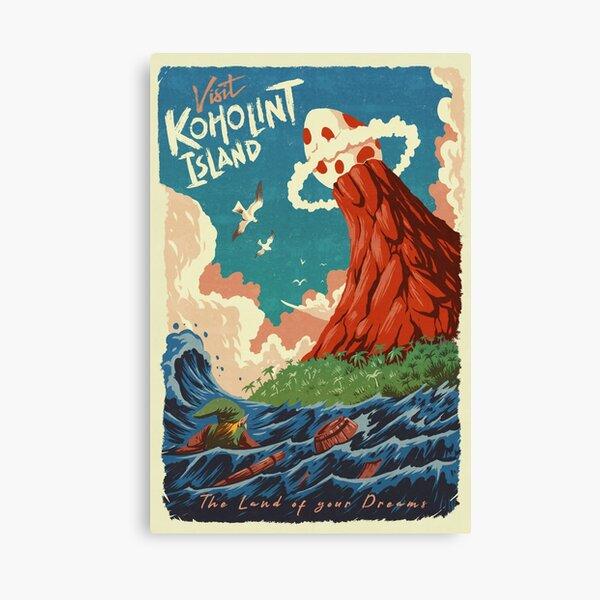 Visit Koholint Island Canvas Print