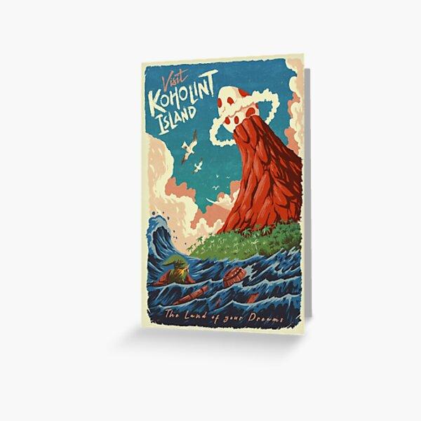 Visit Koholint Island Greeting Card