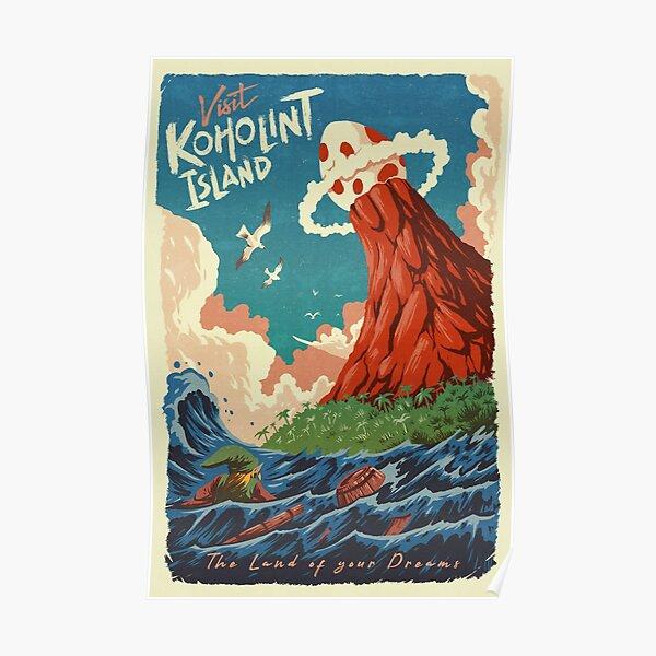 Visit Koholint Island Poster