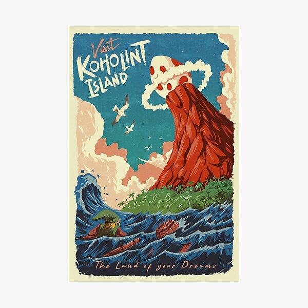 Visit Koholint Island Photographic Print