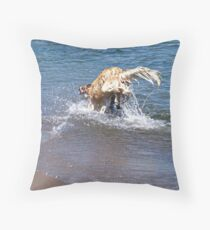 Making a Splash Throw Pillow