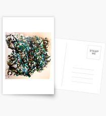 Nummerierte Collage. Postkarten