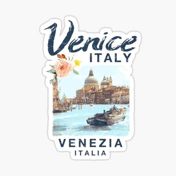 Venice Italy | Venezia Italia Vintage Travel Sticker