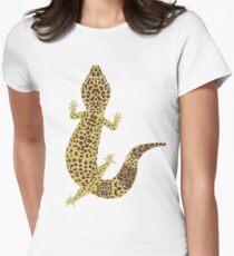 Leopard Gecko Womens Fitted T-Shirt