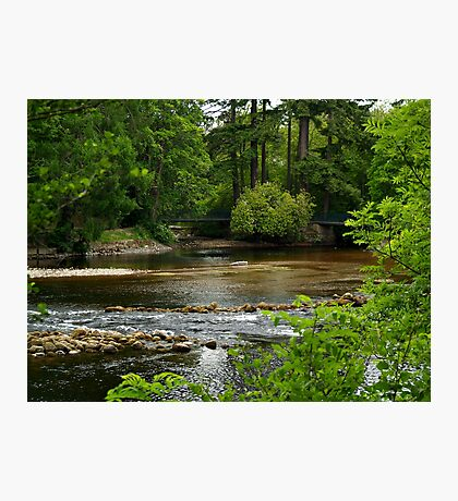 A View Of The River Ness In Scotland. Photographic Print