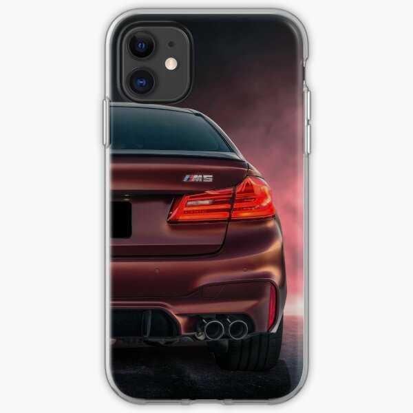 Frost Red M5 iPhone Soft Case