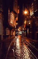 Reflections in Time, York, England by David Davies