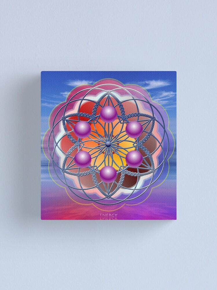 Alternate view of Energy Canvas Print
