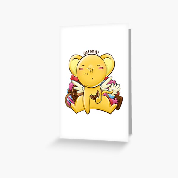 OMNOM - Kero-Chan Greeting Card