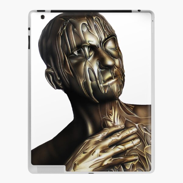 TRIBUTE TO BELOVED NARCISSIST (Color pencil drawing) iPad Skin