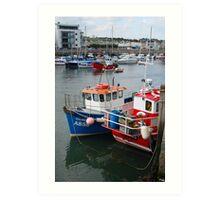 West Bay harbour Art Print